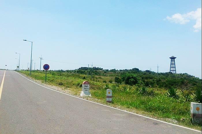 平地が多いお国柄、山を見るとカンボジア人のテンションは上がる。デートスポットにも