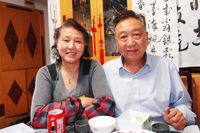 李貴宝さん(71)、李志勤さん(67)ご夫妻