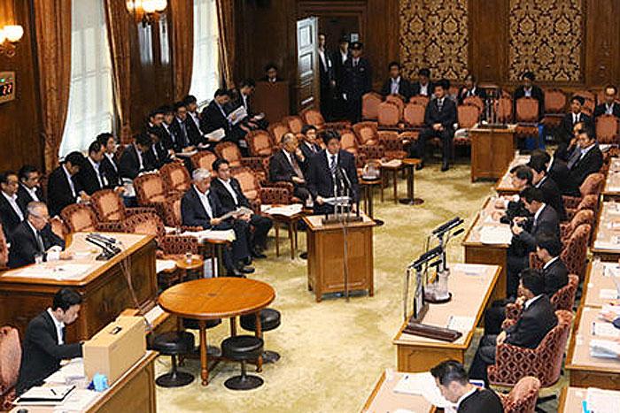 参議院我が国及び国際社会の平和安全法制に関する特別委員会(9月11日)出典:首相官邸