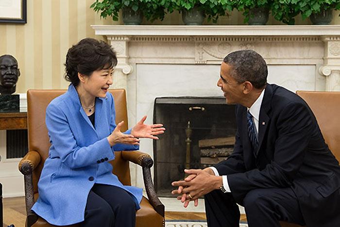 韓国パククネ氏、米韓首脳会談で「何の成果も!得られませんでした!」