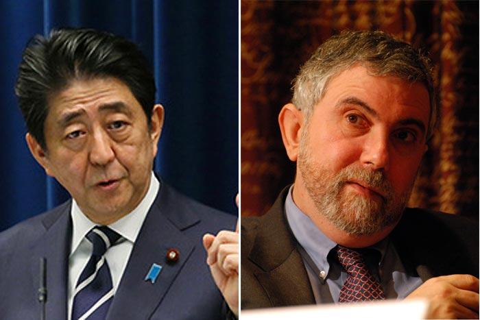 クルーグマンと安倍首相の議事録『Meeting with Japanese officials』を読む=吉田繁治