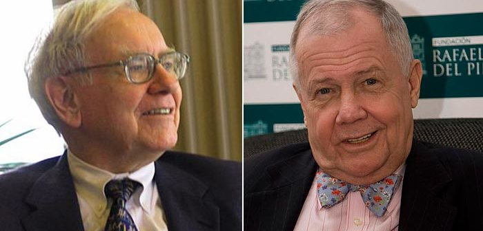 From Wikimedia Commons Warren Buffett | Jim Rogers