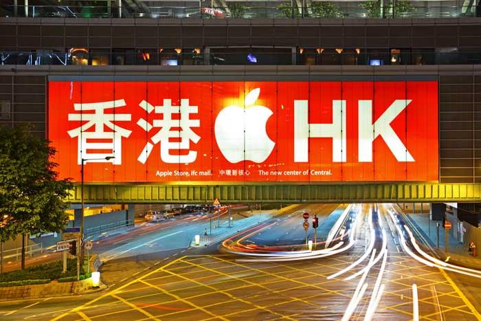 香港ハンセン指数は20000ポイント回復、バフェット大量保有を好感しアップル関連に買い(5/17)