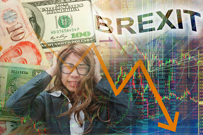 「英EU離脱ショック」日経平均1286円安の大暴落、一時1ドル99円台に(6/24)