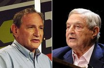 From Wikimedia Commons George Friedman | George Soros