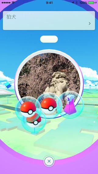 出典:Pokémon GO(iTunes)