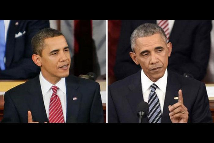 こんなに老けるのか…アメリカ歴代大統領10名、任期前後の比較写真が残酷!
