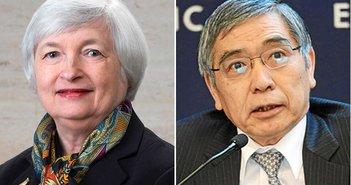 「金利の正常化」に向かうFRBと「異常な金融政策」に向かう日銀=近藤駿介