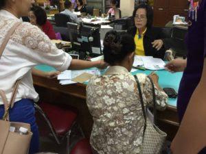 タイの土地局における登記移転手続き