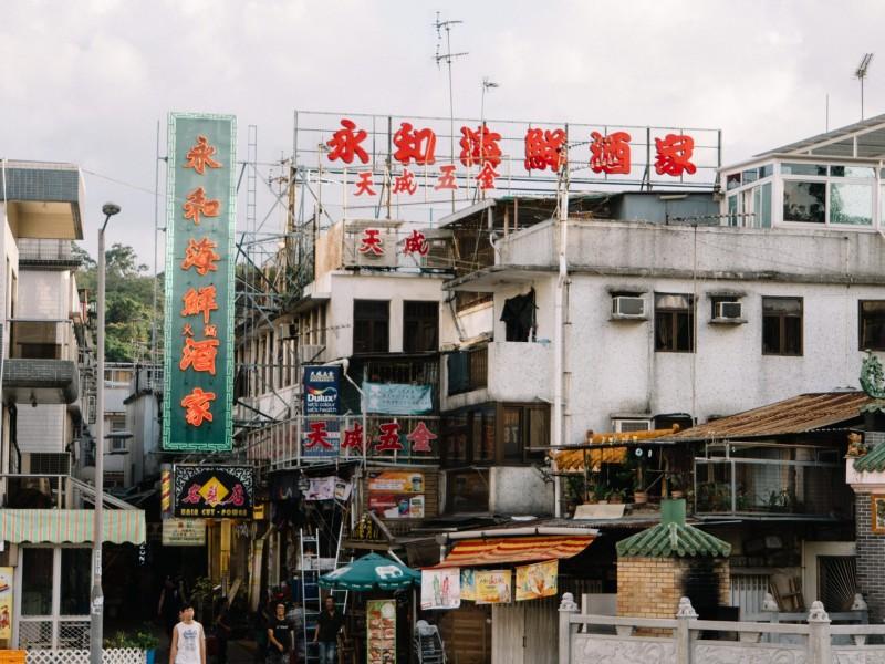 香港小型株市場の暴落