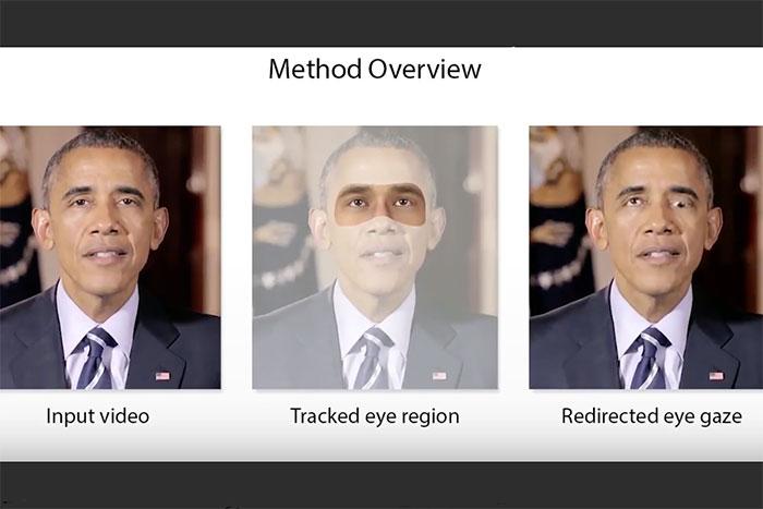 動画に映る人物の「視線」を自由に変えられる新技術、米大学が共同開発!