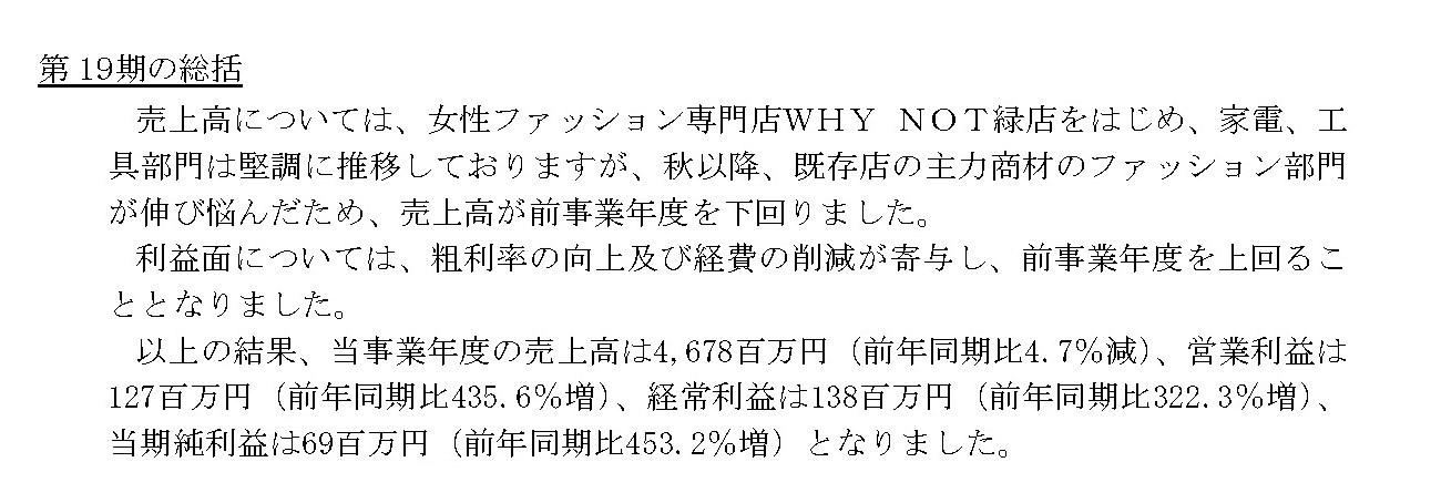 買取王国、営業利益は前年同期比435.6%増 衣料部門が落ち込むも、その他部門が牽引