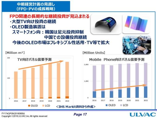 アルバック、創業来最高の売上高・3期連続最高益更新へ 半導体・電子部品が堅調