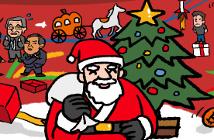 サンタがお家にやってくる!クリスマスプレゼント手渡し大作戦2018