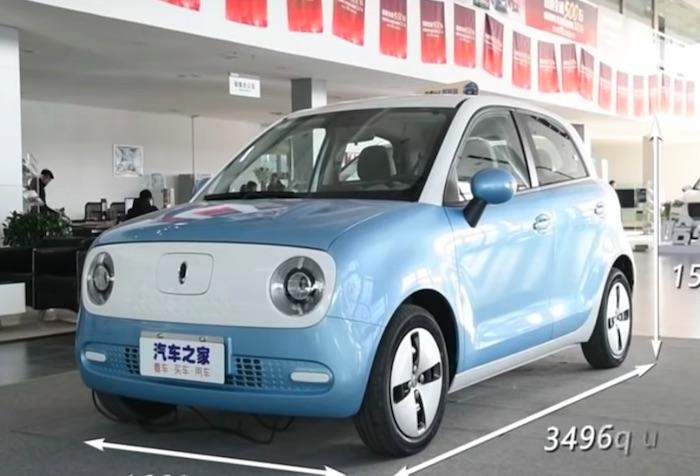 激安自動車の登場?中国メーカーが約94万円の電気自動車「ORA R1」を発表