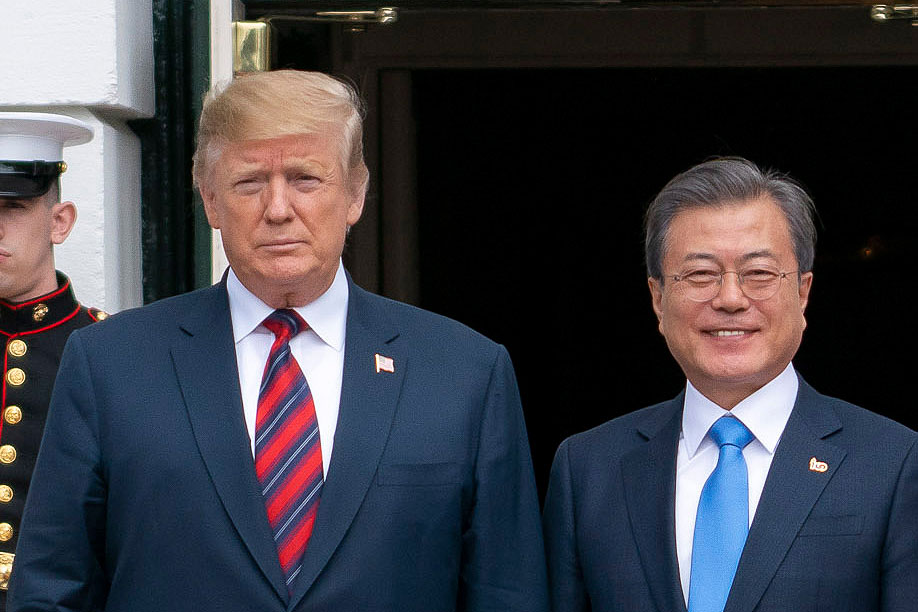 韓国大統領が涙目。米韓首脳会談「わずか2分」で打ち切りも、強固な同盟を再確認と発表