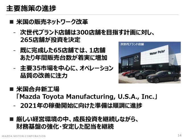 マツダ、通期グローバル販売台数は対前年4%減 日本・ASEANで販売増も、中国・米国等で低調