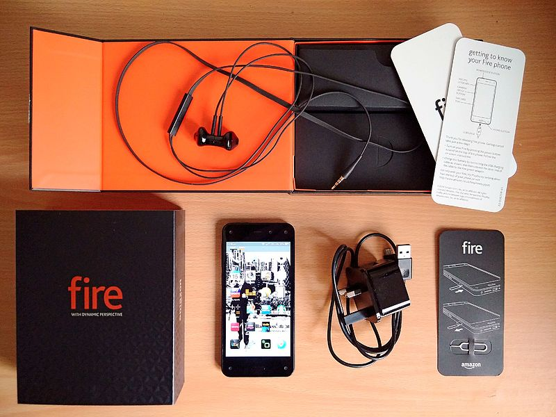 Unboxed amazon fire phone image by:Romazur