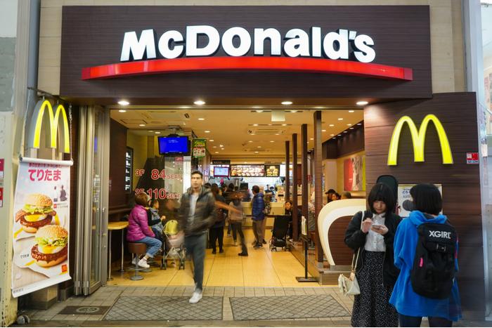 マクドナルドが、1~6月期の連結営利同期比10%増で5,000円台乗せへ。決算相場ピーク(8/9)