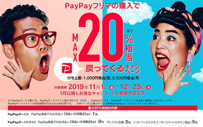 出典:PayPayフリマ ホームページ