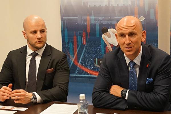 ゲインキャピタル アジア・パシフィック最高責任者のアレックス・ハワード氏(右)と、ゲインキャピタル・ジャパン代表取締役社長のパトリック・マクゴナグル氏(左)