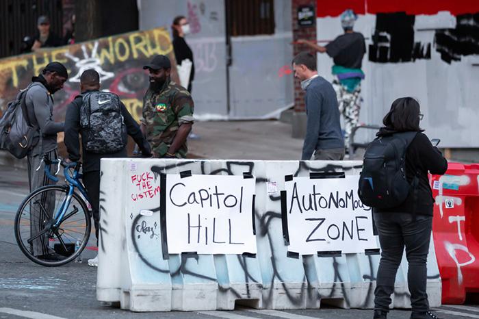 米国「抗議デモ」は内戦の序章か。警察が踏み込めない自治区チャズの誕生と彼らの要求=In Deep