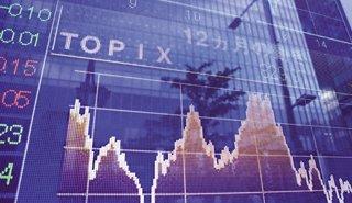 マザーズ指数は4日ぶり反落、大型株に物色向く、モビルスなどIPO2社初値