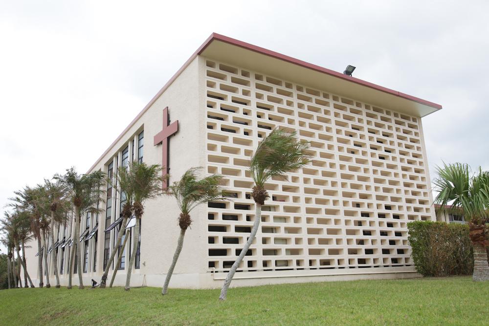 聖クララ教会外観