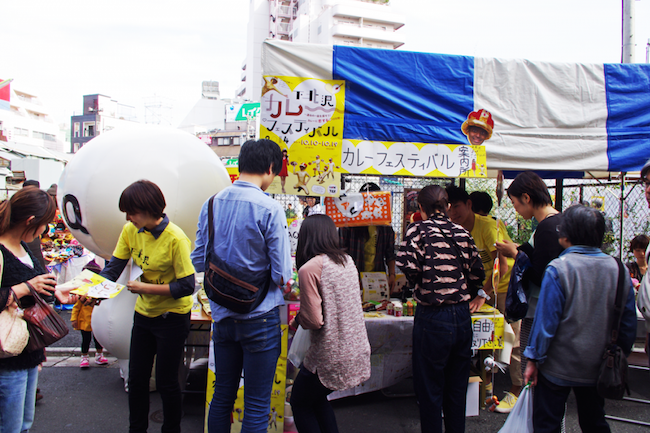 下北沢カレーフェスティバル2014の様子