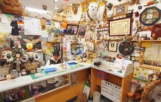 行列のできるパワスポ郵便局!1600羽のフクロウが待つ和歌山の新名所