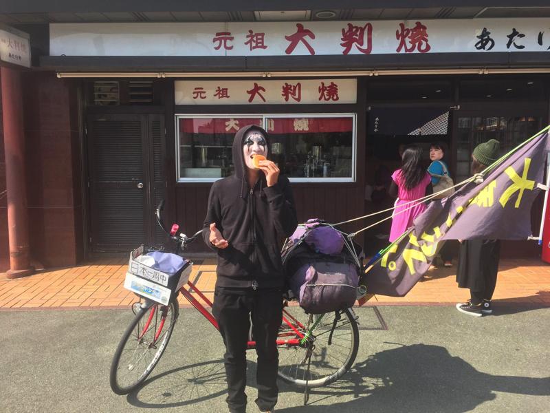 徳島駅前の大判焼き屋「あたりや」でお口直し。まだまだラーメン食べるぞ!