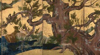 Kano_Eitoku_-_Cypress_Trees