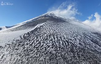 202秒の空中散歩。登頂不可能な冬の富士山を4Kドローンくんが空撮
