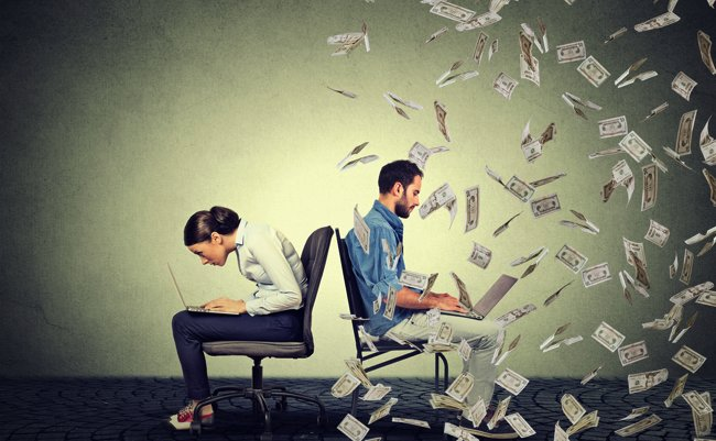 男女間の給料格差、日本は世界で...