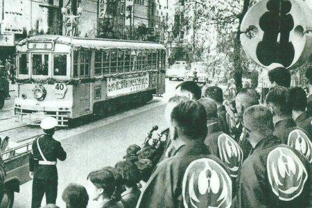 昭和42年(1967年)。都電廃止前日