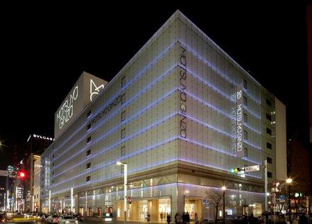 2006年「ファッションと情報発信の松屋」を標榜しリニューアルグランドオープンした松屋銀座