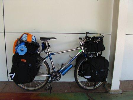 オーストラリアに降り立ったときの自転車 (1)