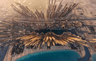 「まるで芸術だ」上空から捉えた美しい世界の都市写真12選