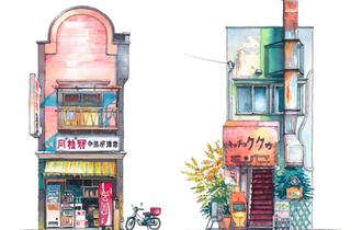 ペットみたいな愛おしさ。ポーランド人が描く「昭和な東京」風景