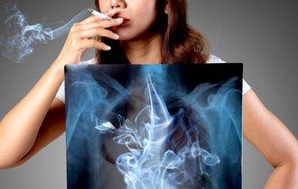 タバコはやめたのに肺に疾患? タバコと肺の関係について