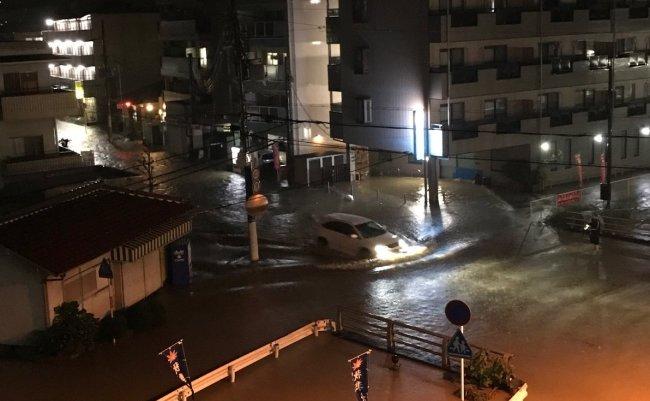 大和川 氾濫 台風21号