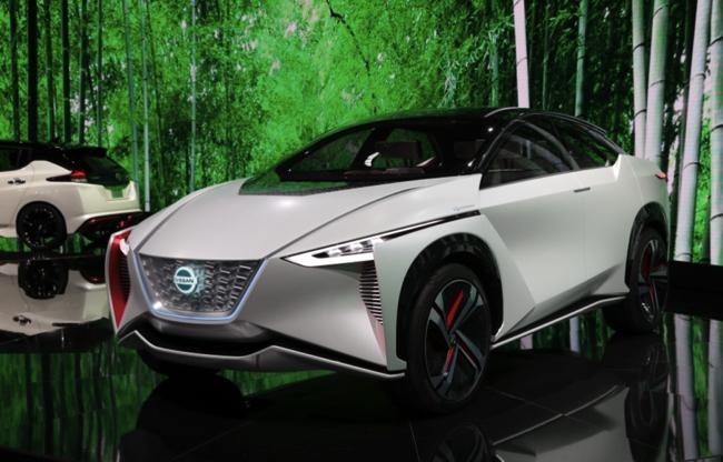 日産 EV 電気自動車 IMx