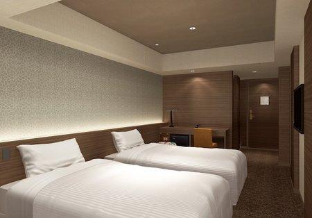 京都100連泊のホテル、トレインビュールーム