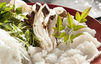 「鱧」←何て魚?関西人なら読める、丹波産松茸と味わう秋の味覚