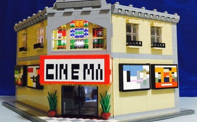 レゴ 映画館 ツイッター スマホ