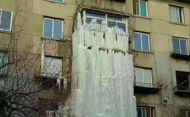 中国 吉林省 滝 氷 芸術