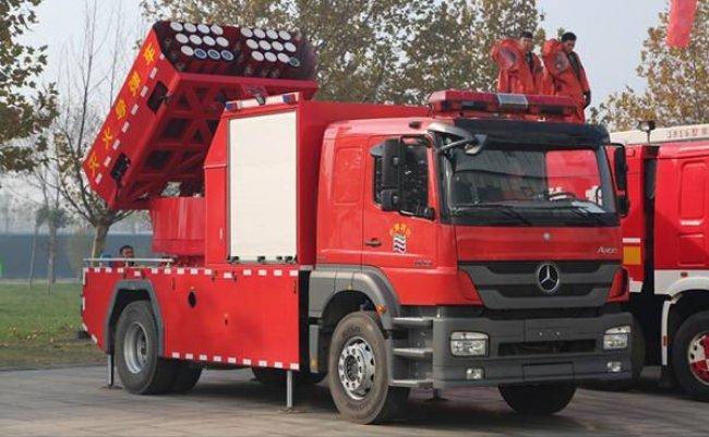 中国 消防車 ツイッター