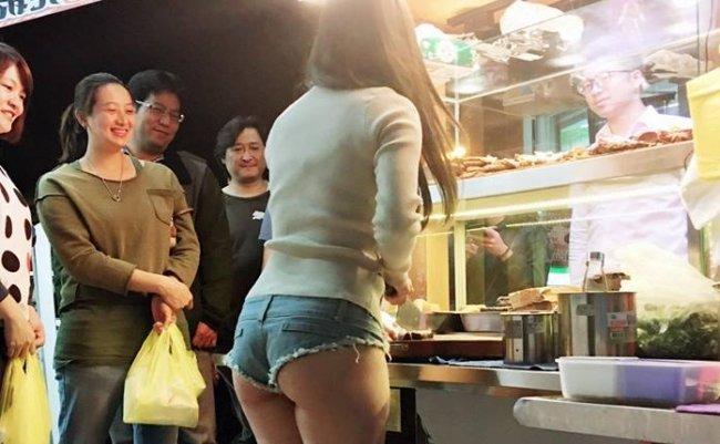 台湾 ルーウェイ 滷味 セクシー 小桃子