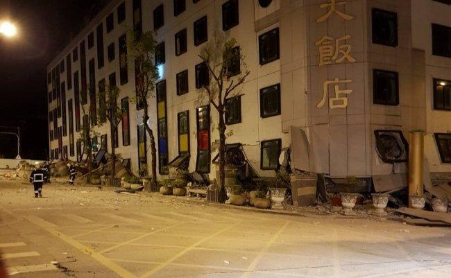 台湾加油 台湾がんばれ 台湾地震 花蓮