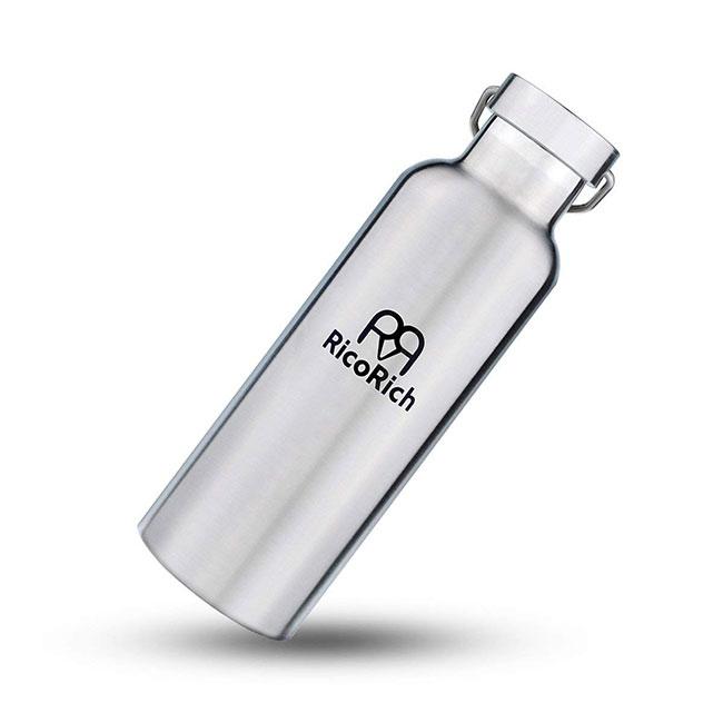 RicoRich スポーツボトル 真空断熱 ダブルステンレスボトル 500ml (RRWB50-SL)